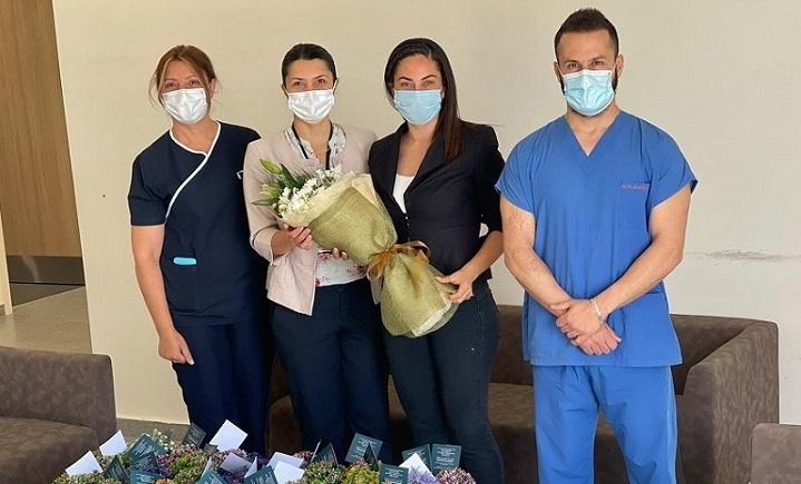 NorthernLand, Acil Durum Hastanesi'ndeki anneleri unutmadı